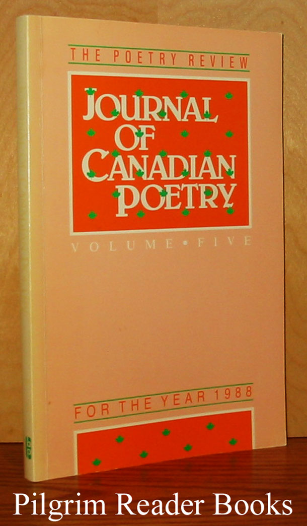 Image for Journal of Canadian Poetry, The Poetry Review, Volume 5