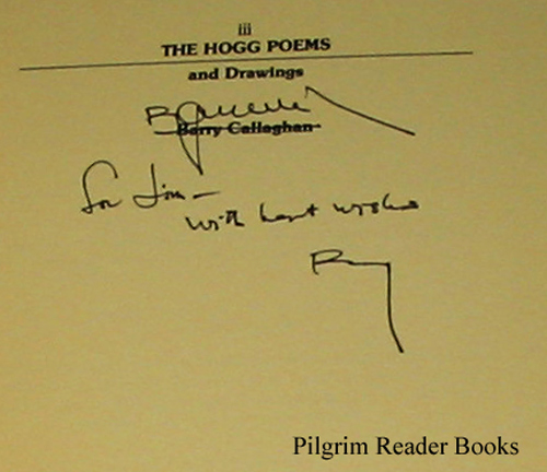 Image for The Hogg Poems and Drawings.