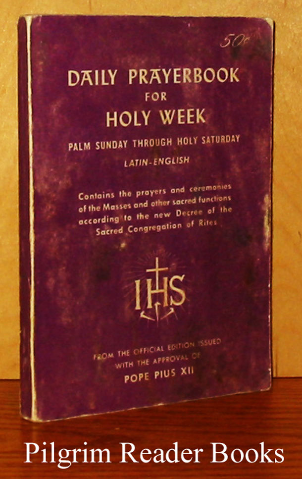 Image for Daily Prayerbook (Prayer Book) for Holy Week. Palm Sunday through Holy Saturday.