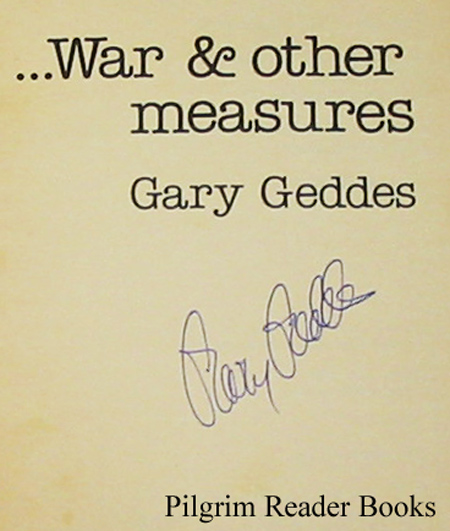 Image for War & Other Measures.