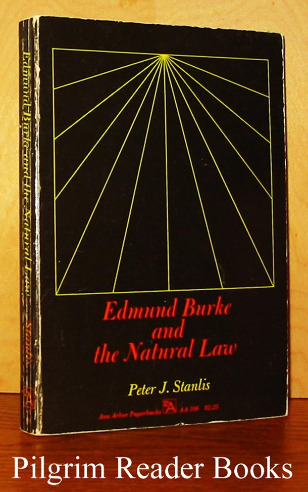 Image for Edmund Burke and the Natural Law.