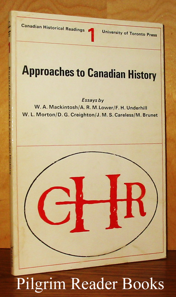 Image for Approaches to Canadian History: Canadian Historical Readings 1.