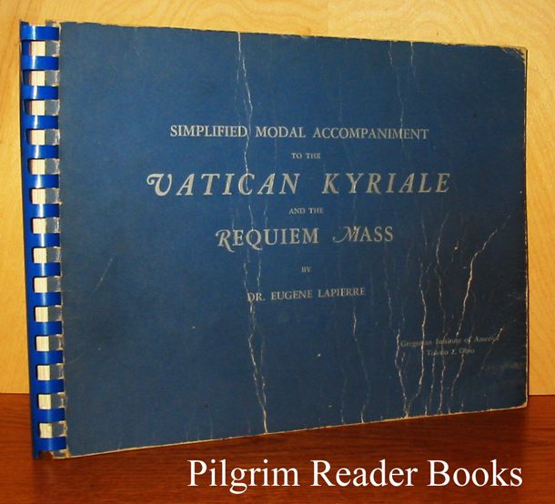 Image for Simplified Modal Accompaniment to the Vatican Kyriale and the Requiem Mass.