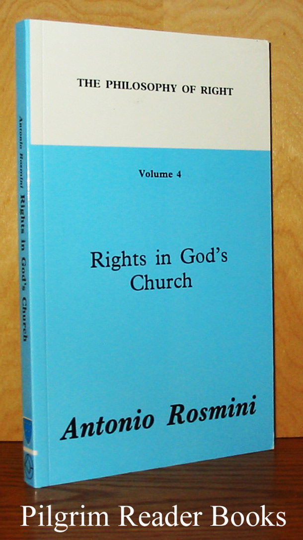 Image for Rights in God's Church