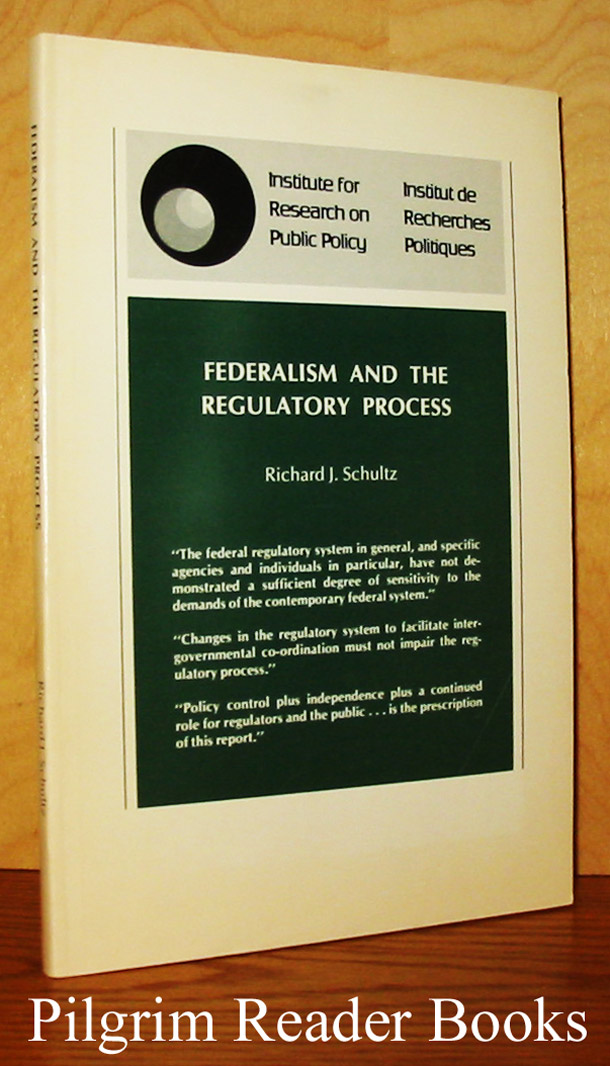 Image for Federalism and the Regulatory Process.