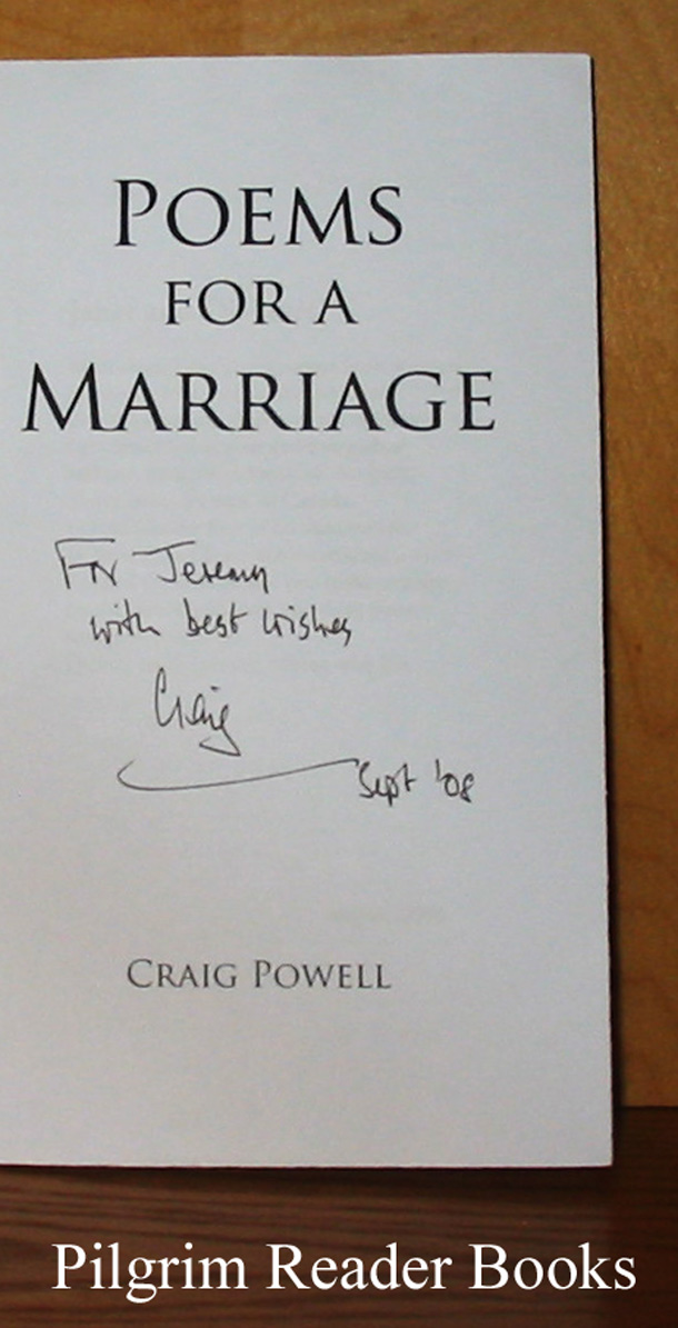 Image for Poems for a Marriage.