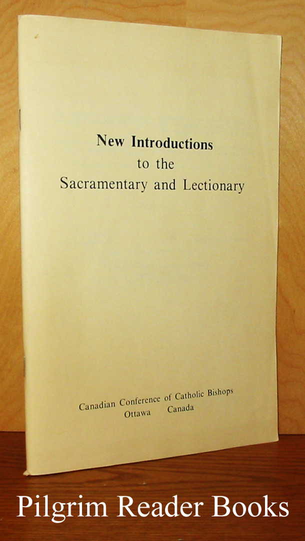 Image for New Introductions to the Sacramentary (4th edition) and Lectionary (2nd edition).