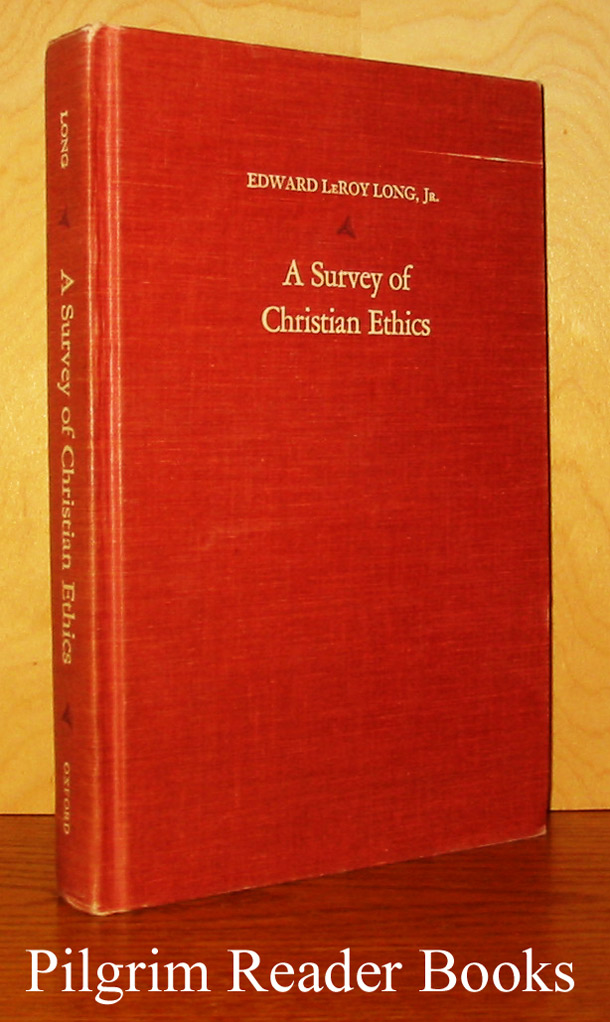 Image for A Survey of Christian Ethics.
