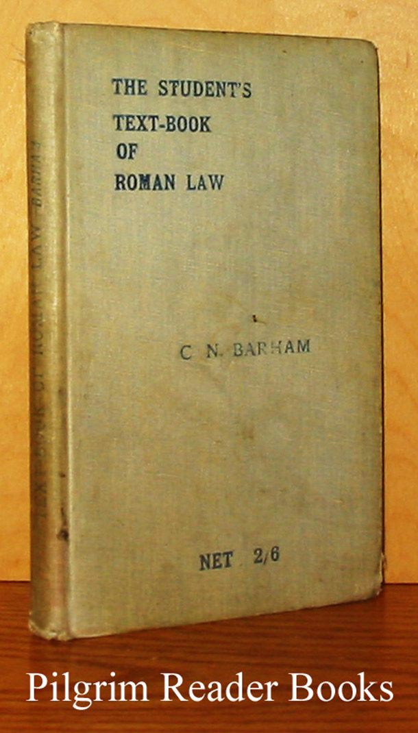 Image for The Student's Text-Book of Roman Law.