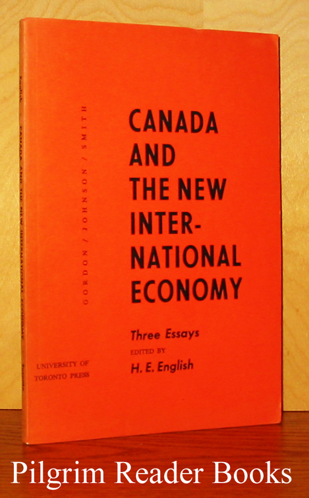 Image for Canada and the New International Economy: Three Essays.