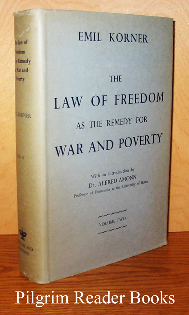 Image for The Law of Freedom as the Remedy for War and Poverty. Volume II only.