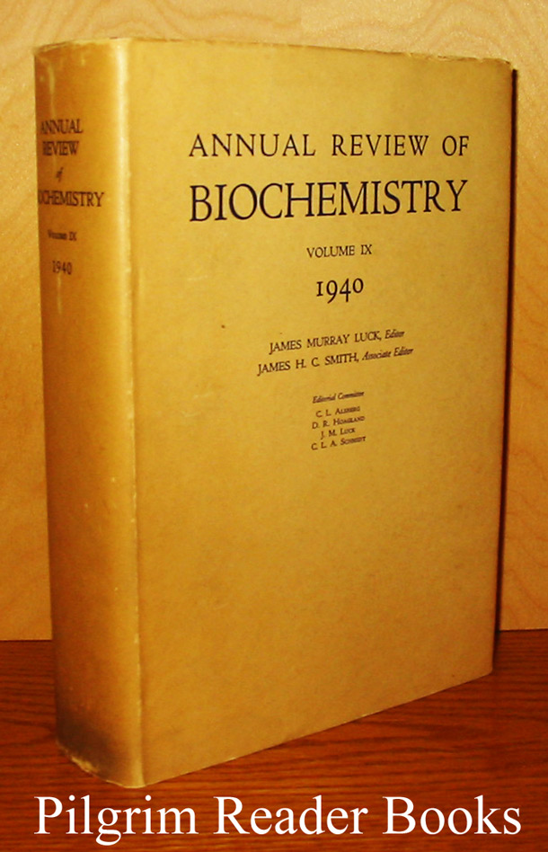 Image for Annual Review of Biochemistry. Volume IX (9). 1940.