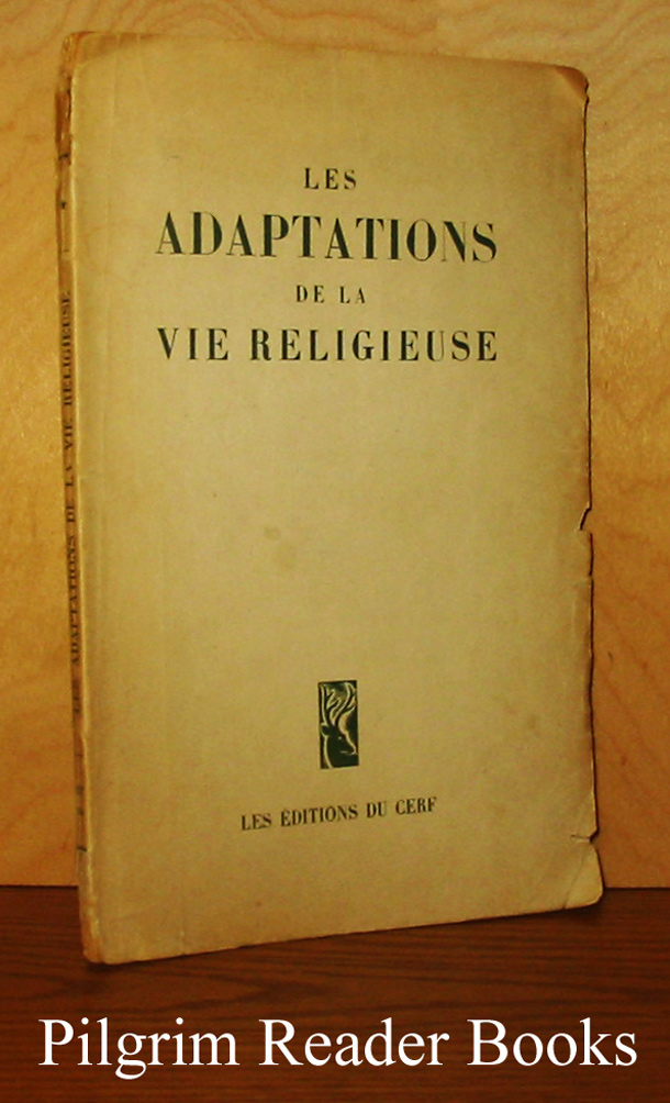 Image for Les adaptations de la vie religieuse.