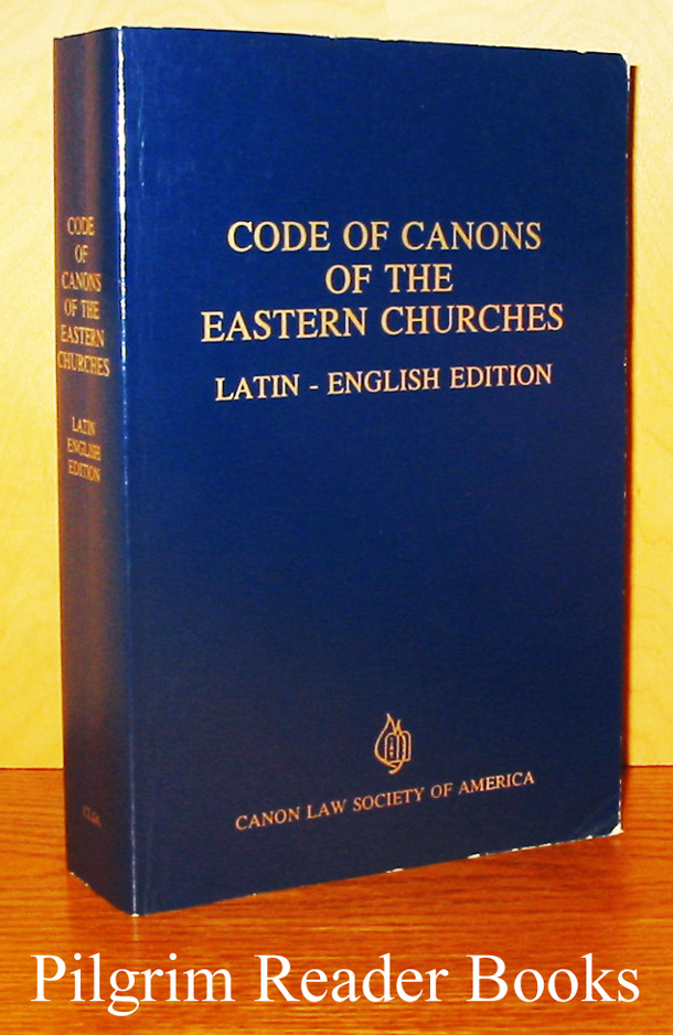 Image for Code of Canons of the Eastern Churches. Latin - English Edition.