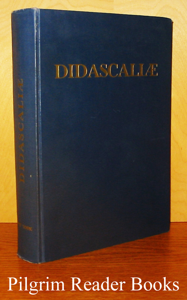 Image for Didascaliae: Studies in Honor of Anselm M. Albareda - Prefect of the Vatican Library.