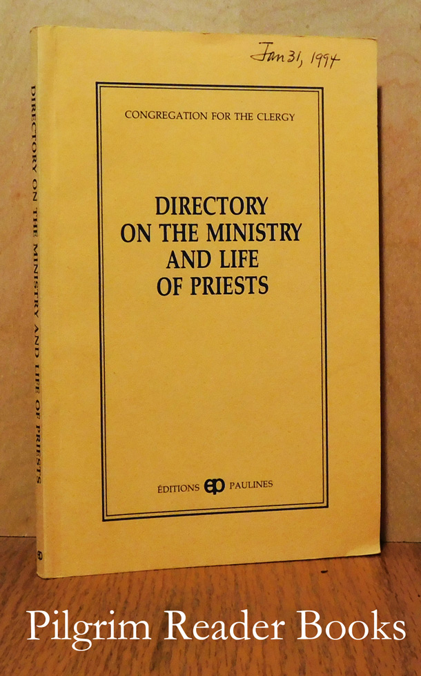 Image for Directory on the Ministry and Life of Priests.