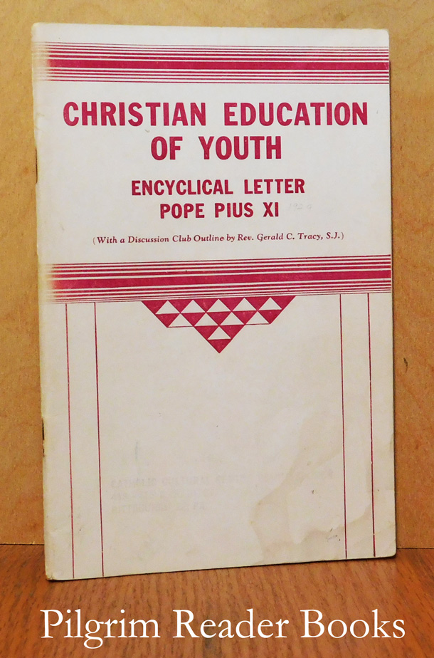 Image for Christian Education of Youth. (Encyclical).
