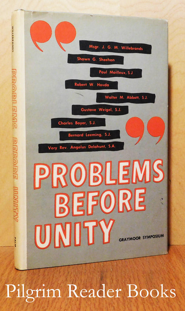 Image for Problems Before Unity. Graymoor Symposium - 1961.