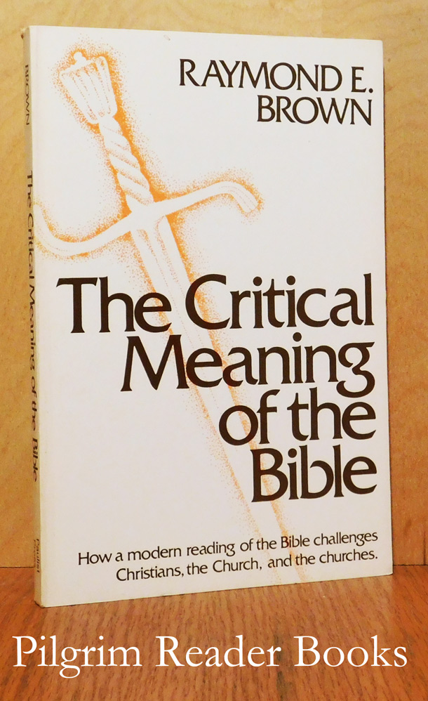 Image for The Critical Meaning of the Bible.