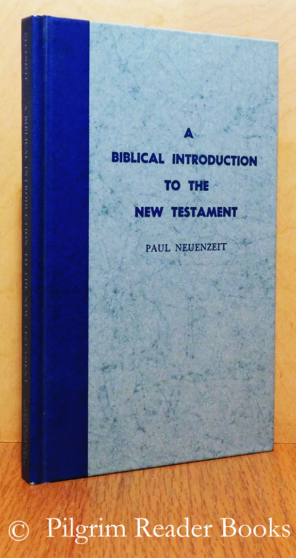 Image for A Biblical Introduction to the New Testament.