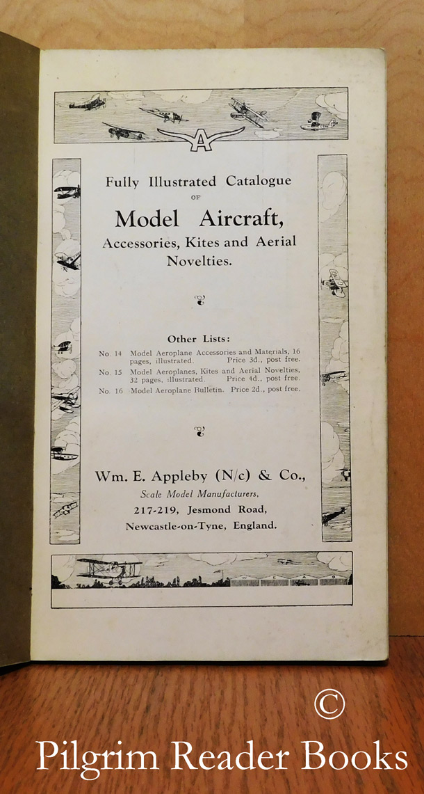 Image for Fully Illustrated Catalogue of Model Aircraft, Accessories, Kites and Aerial Novelties. List Number 17.