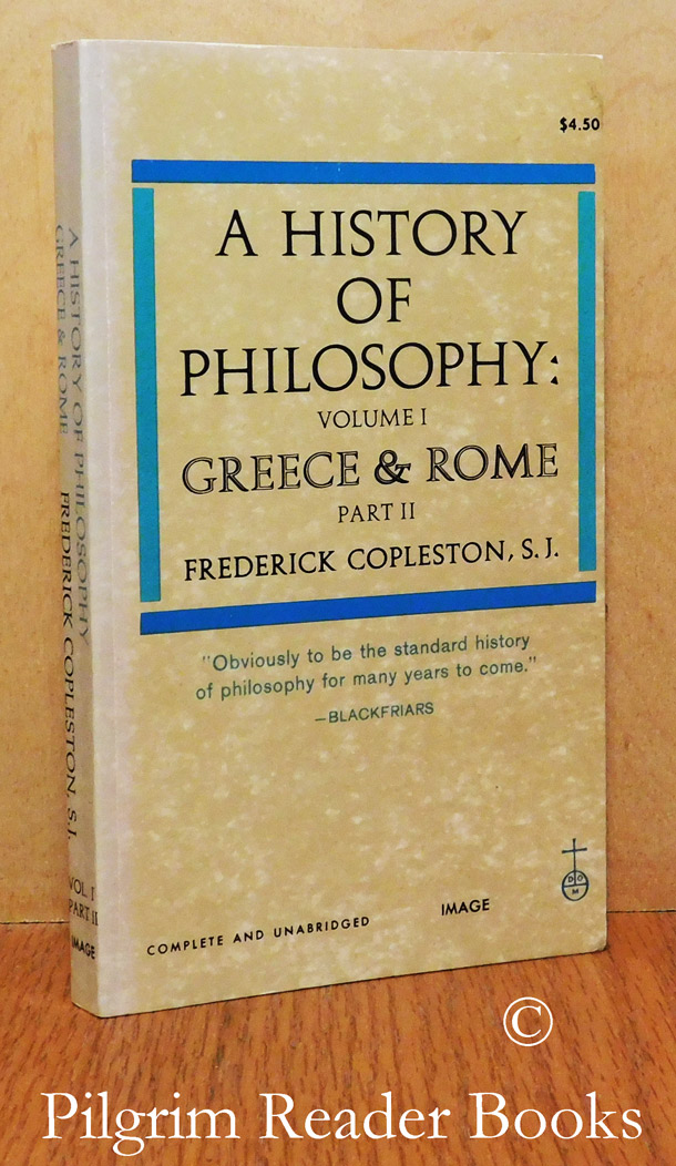 Image for A History of Philosophy; Volume 1, Greece and Rome. Part II only.