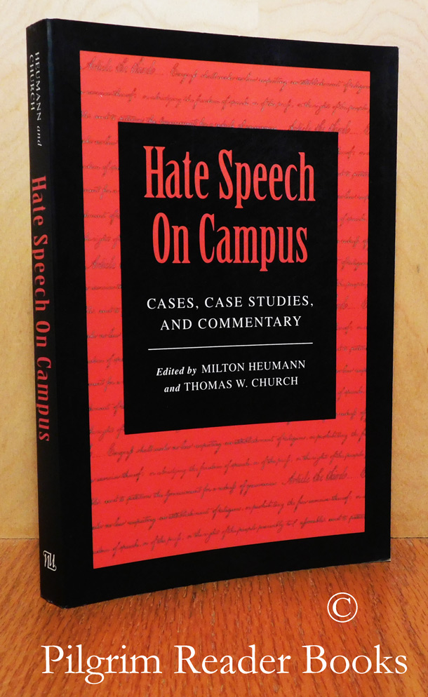Image for Hate Speech On Campus: Cases, Case Studies, and Commentary.
