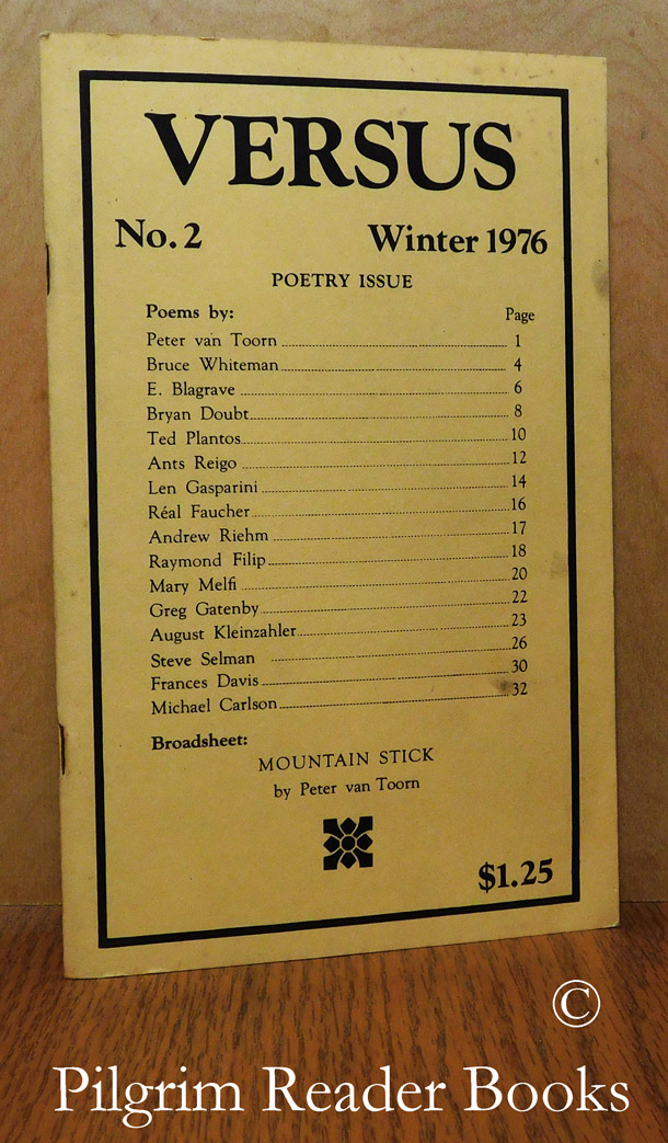 Image for Versus. No. 2, Winter 1976. Poetry Issue.