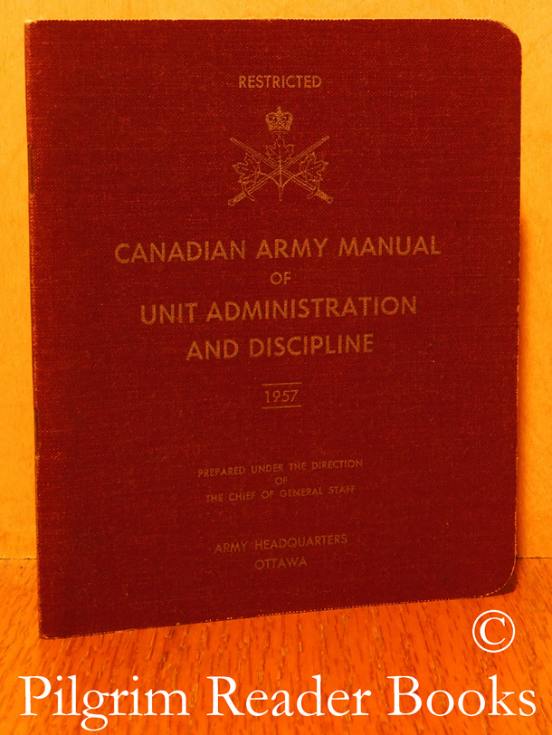 Image for Canadian Army Manual of Unit Administration and Discipline.