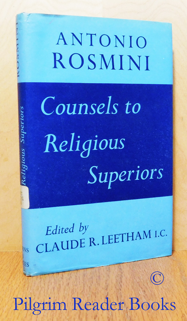 Image for Counsels to Religious Superiors.