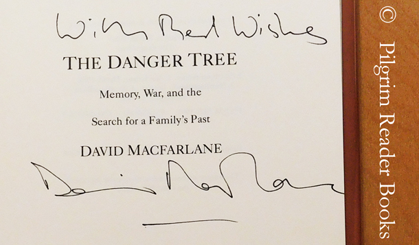 Image for The Danger Tree: Memory, War, and the Search for a Family's Past.
