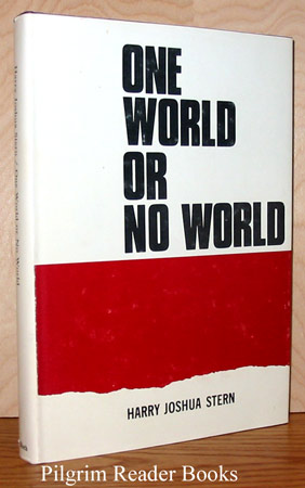 Image for One World or No World: A Collection of Sermons, Essays and Addresses.