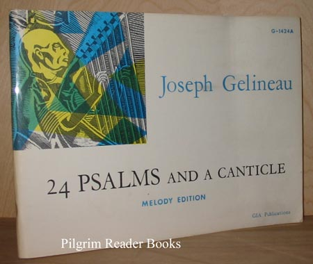 Image for 24 Psalms and a Canticle, Melody Edition