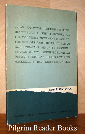 Image for Continuum: Volume 3, Number 2, Summer 1965.