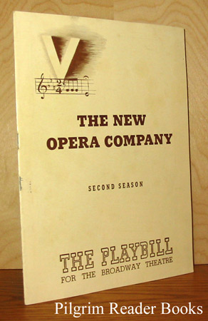 Image for Playbill for the Broadway Theatre, the New Opera Company: The Queen of Spades. November 1942.