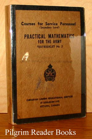 Image for Practical Mathematics for the Army: Textbooklet No.2, Courses for Service Personnel (Secondary Level).