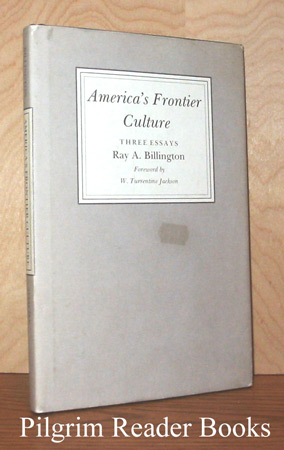Image for America's Frontier Culture: Three Essays.