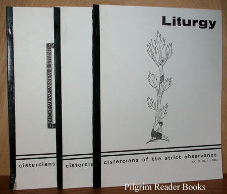 Image for Liturgy; Cistercians of the Strict Observance: Volume 20, 1986 (Complete) , Nos. 1, 2, & 3.