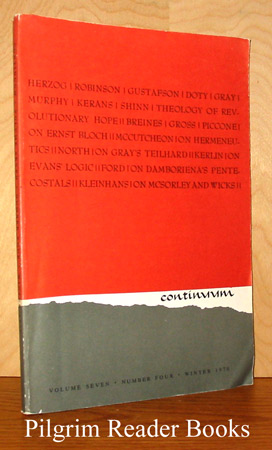 Image for Continuum: Volume 7, Number 4, Winter 1970.