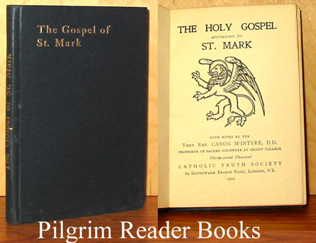 Image for The Holy Gospel According to St. Mark.