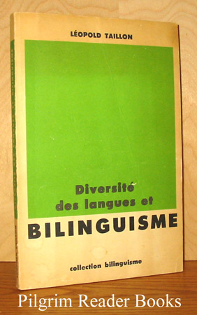 Image for Diversité des langues et bilinguisme.