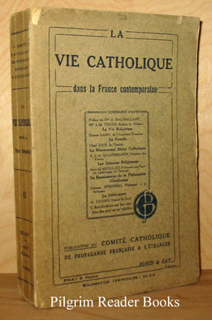 Image for La vie catholique dans la France contemporaine.